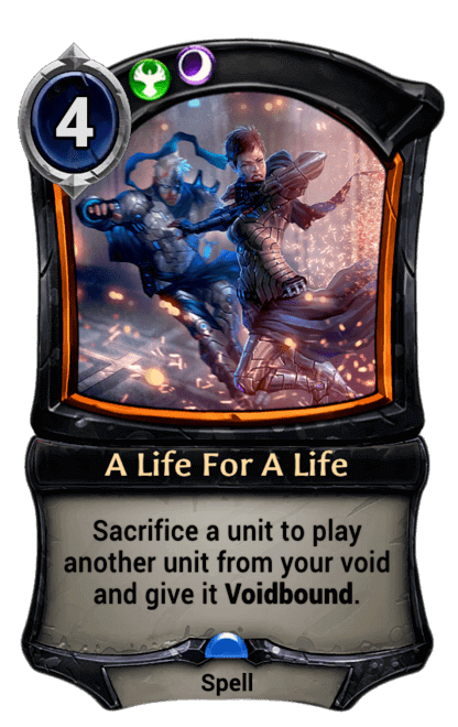 Card image for A Life For A Life