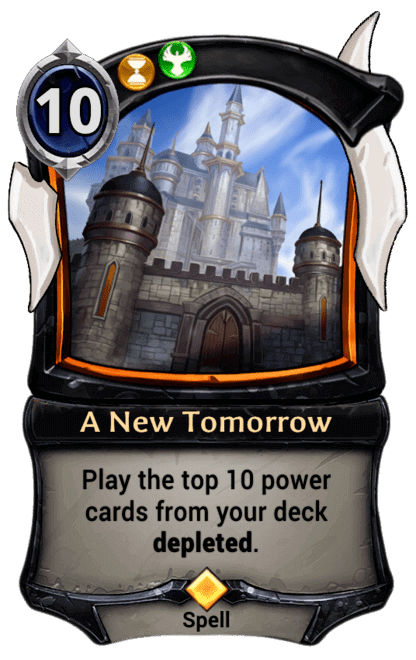 Card image for A New Tomorrow