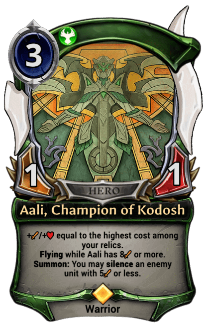 Card image for Aali, Champion of Kodosh