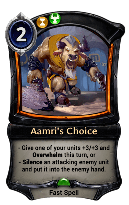 Card image for Aamri's Choice