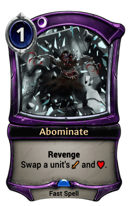 Card image for Abominate