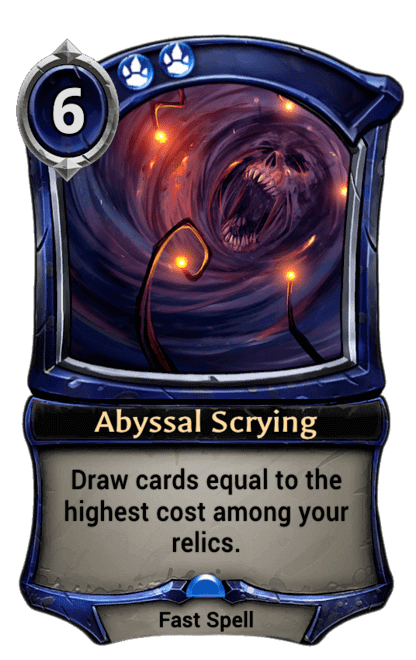 Card image for Abyssal Scrying