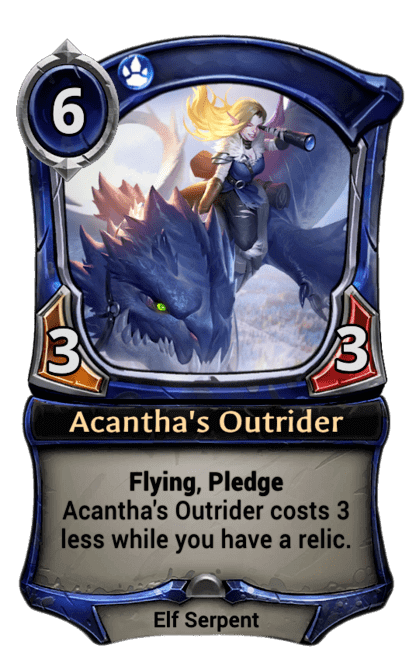 Card image for Acantha's Outrider