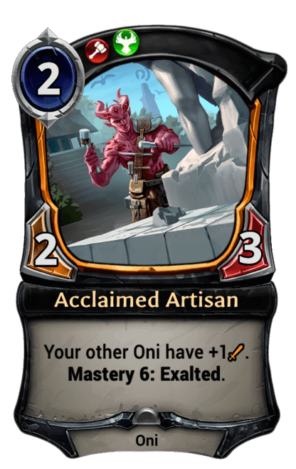 Card image for Acclaimed Artisan