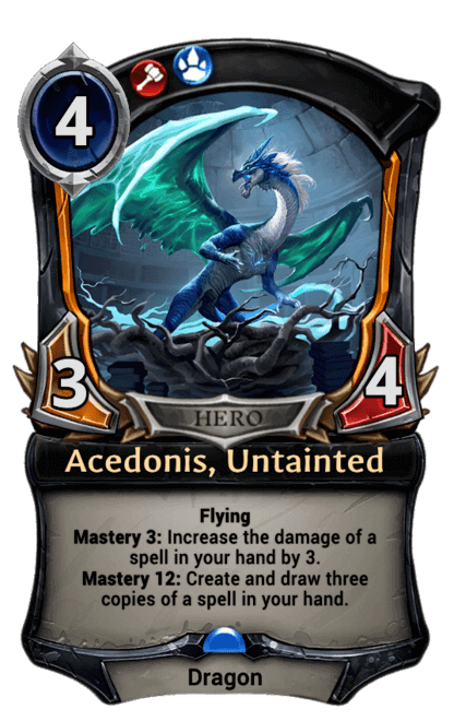 Card image for Acedonis, Untainted