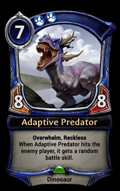 Card image for Adaptive Predator