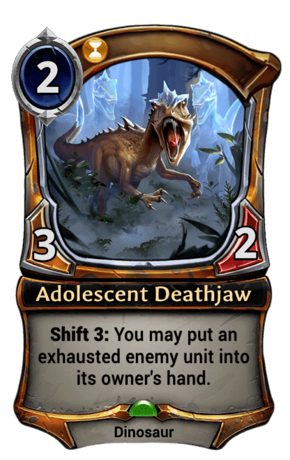 Card image for Adolescent Deathjaw