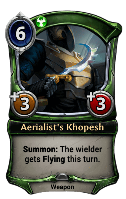 Card image for Aerialist's Khopesh
