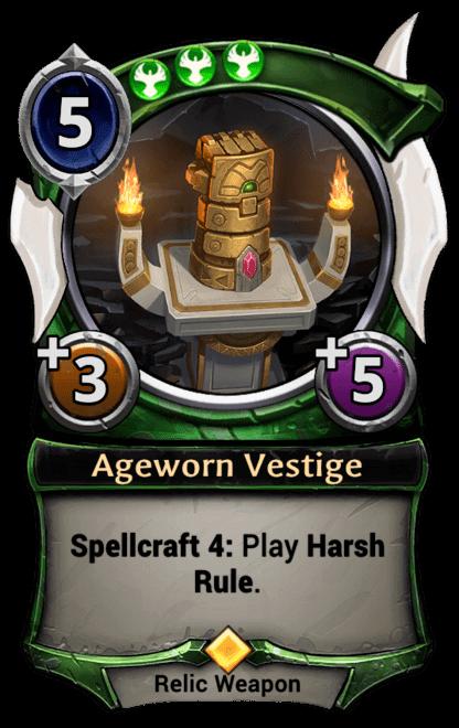 Card image for Ageworn Vestige