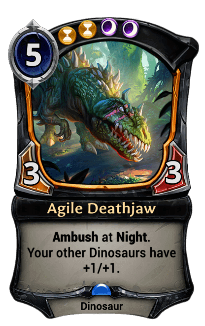 Card image for Agile Deathjaw