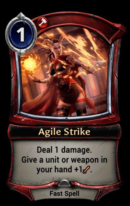 Card image for Agile Strike