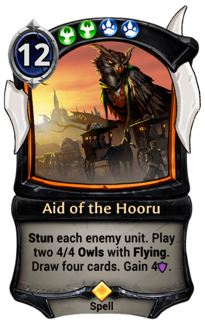 Card image for Aid of the Hooru