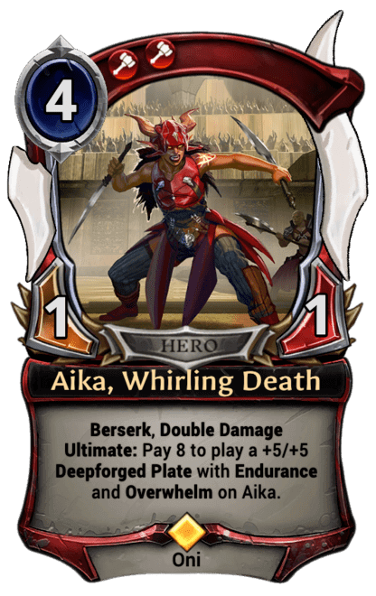 Card image for Aika, Whirling Death