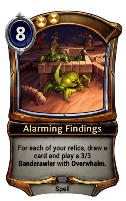 Card image for Alarming Findings