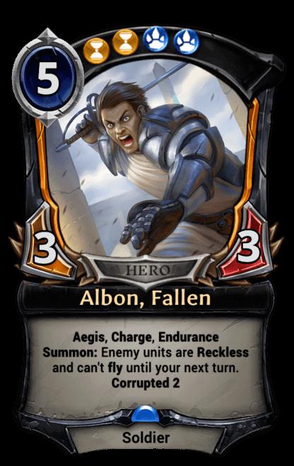 Card image for Albon, Fallen