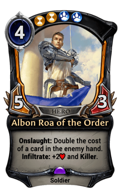 Card image for Albon Roa of the Order
