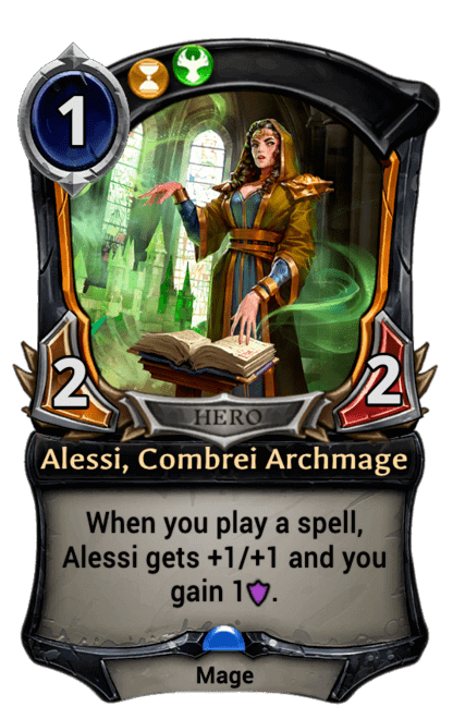 Card image for Alessi, Combrei Archmage