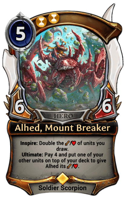 Card image for Alhed, Mount Breaker