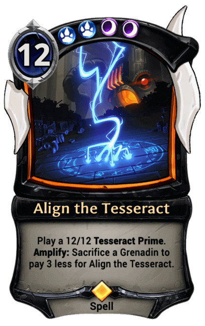 Card image for Align the Tesseract