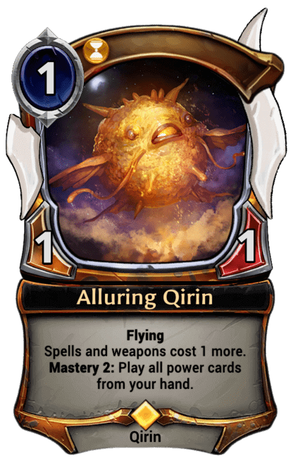 Card image for Alluring Qirin