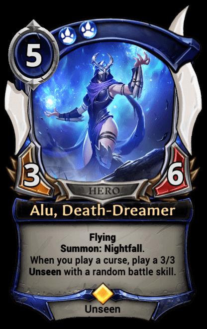 Card image for Alu, Death-Dreamer