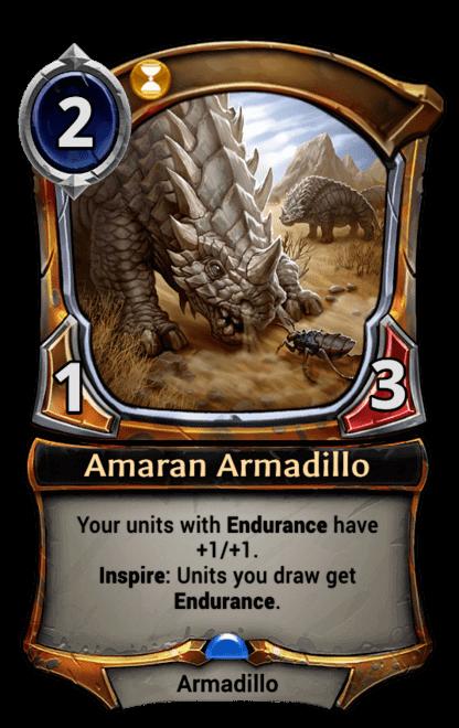 Card image for Amaran Armadillo
