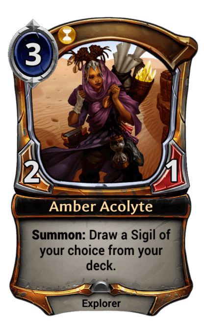 Card image for Amber Acolyte