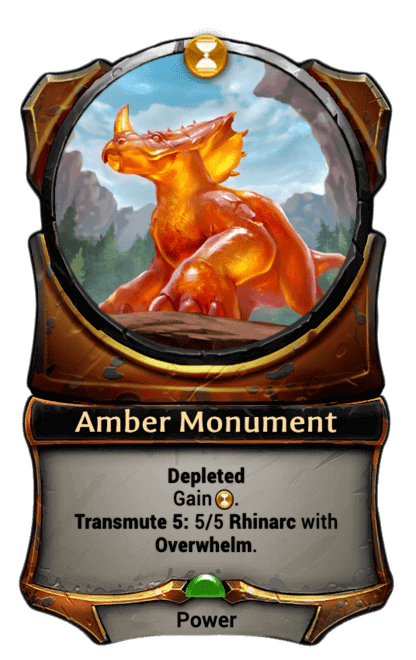 Card image for Amber Monument