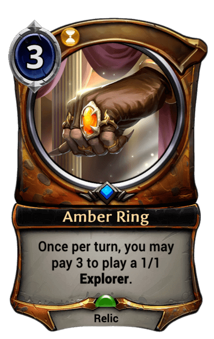 Card image for Amber Ring