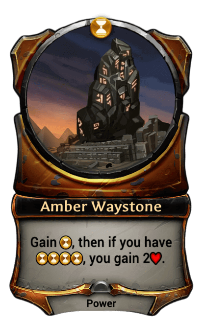 Card image for Amber Waystone