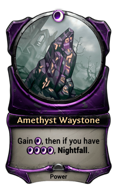 Card image for Amethyst Waystone