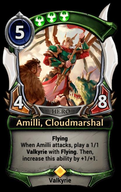 Card image for Amilli, Cloudmarshal