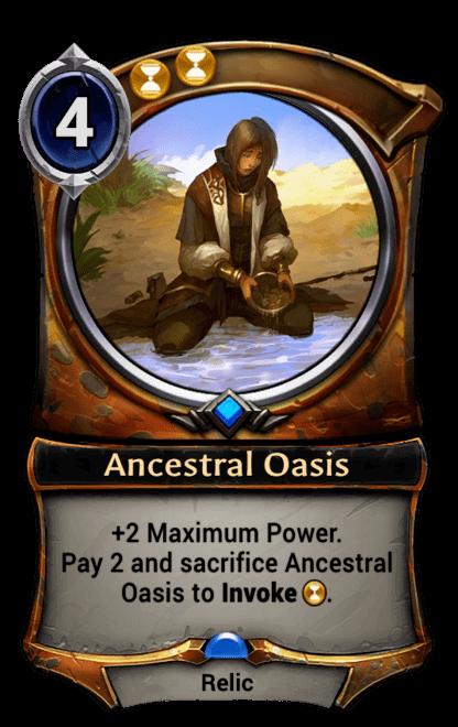 Card image for Ancestral Oasis
