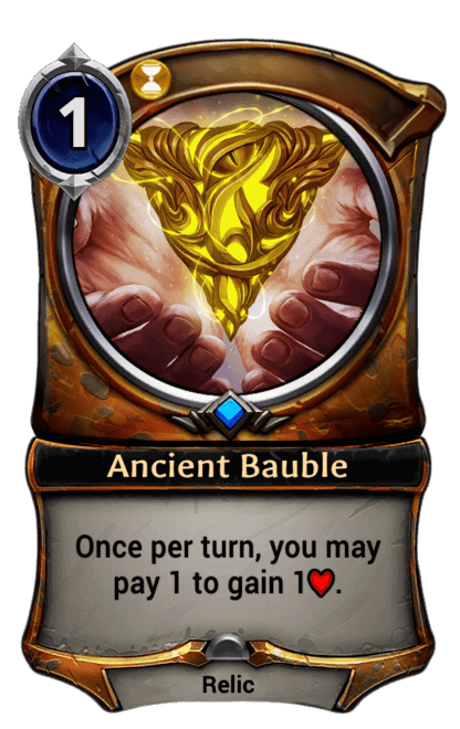 Card image for Ancient Bauble