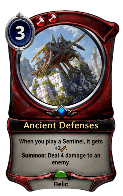 Card image for Ancient Defenses