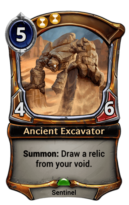 Card image for Ancient Excavator