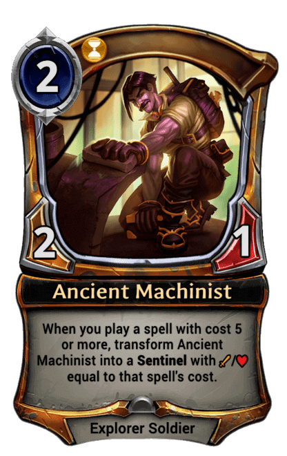Card image for Ancient Machinist