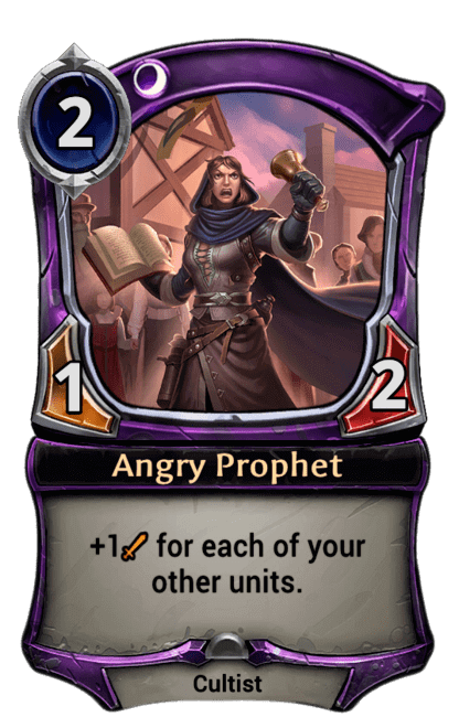 Card image for Angry Prophet