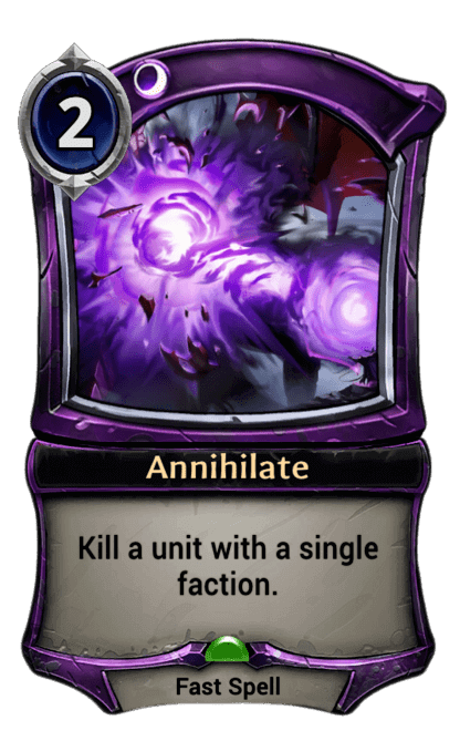 Card image for Annihilate