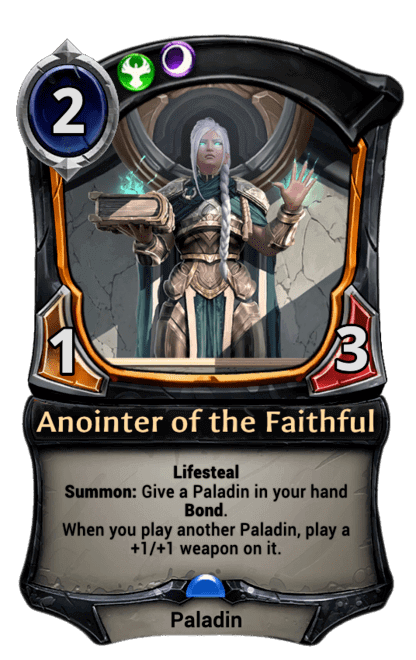 Card image for Anointer of the Faithful