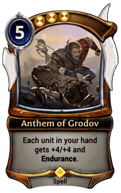 Card image for Anthem of Grodov