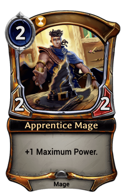 Card image for Apprentice Mage