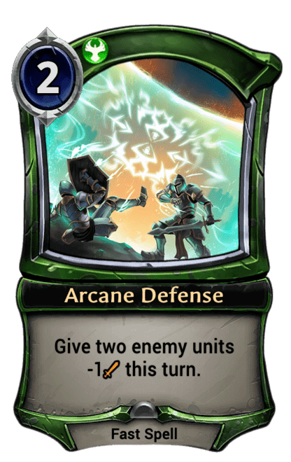 Card image for Arcane Defense