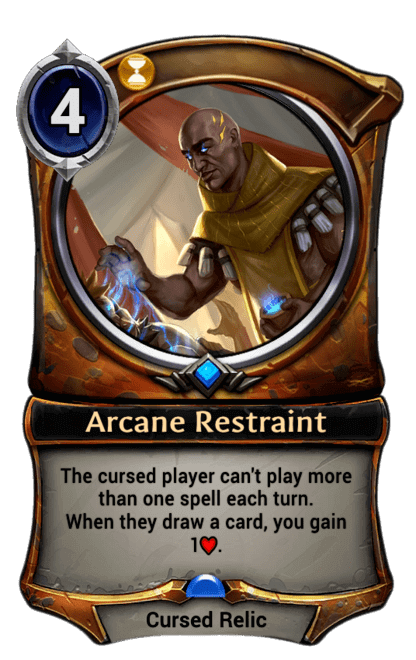 Card image for Arcane Restraint
