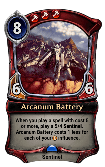 Card image for Arcanum Battery