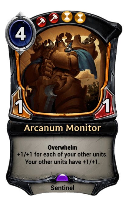 Card image for Arcanum Monitor