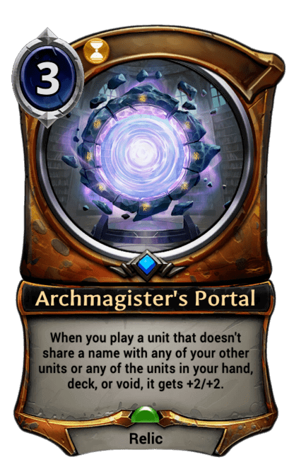 Card image for Archmagister's Portal