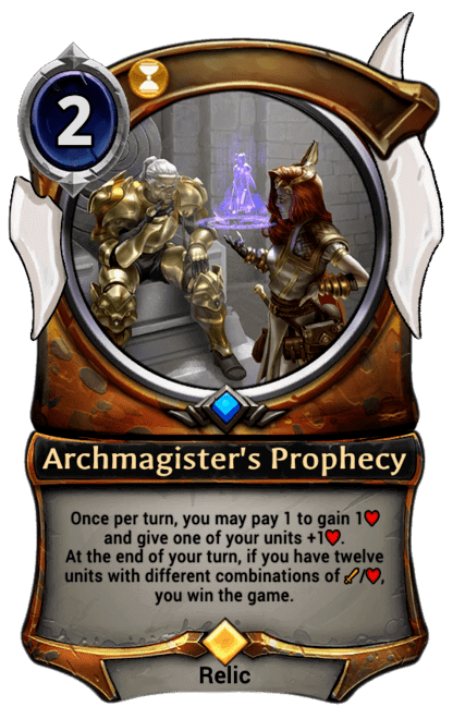 Card image for Archmagister's Prophecy