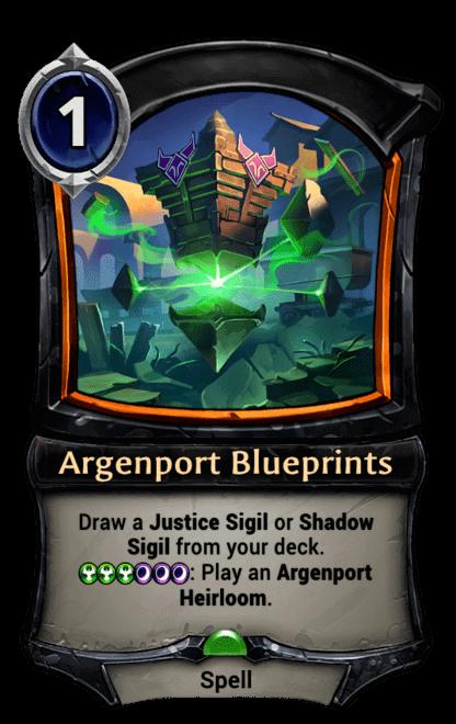 Card image for Argenport Blueprints