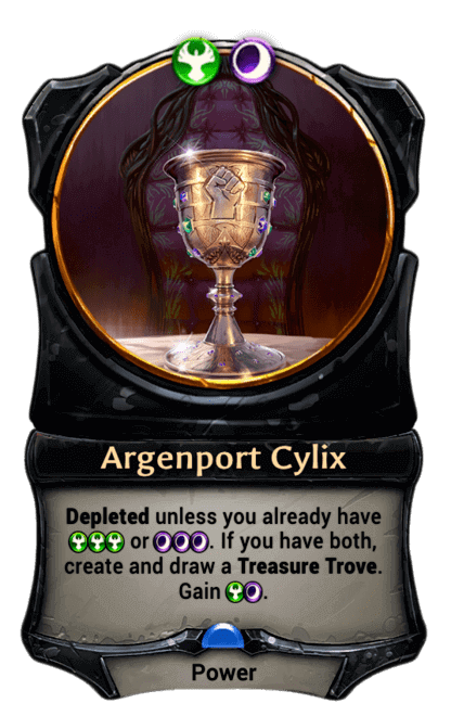 Card image for Argenport Cylix